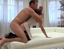 Balls deep anal fuck with Rocco - Alena D, Rocco Siffredi