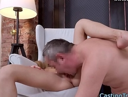 Gorgeous amateur fucked and creampied
