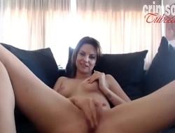 Nena sexy en web cam