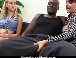 hot milf mom make a blowjob and ride a big black cock interracial 2