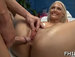 Full body massage movie scene