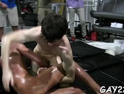 Gay chap massage clip