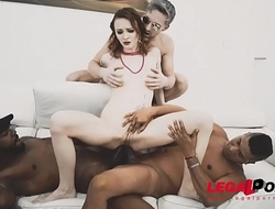 Deep Anal Session - Belle Claire gets Banged out with Big Black Cock