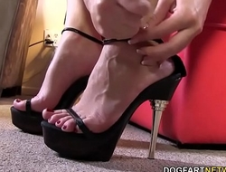 Foot Fetish Sex With Black Cock Slut Sierra Sanders