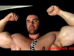 Giant Bodybuilder Max WORSHIP &amp_ SEX