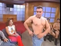 Talk Show Latino Male Stripper 1