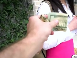 Sexy Jennifer gets fucked for money