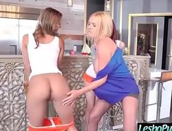 Hot Lesbians (Krissy Lynn &amp_ Sheena Rose &amp_ Uma Jolie) Punish Each Other With Sex Toysvid-28