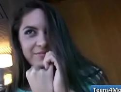 Teens Love Money fucked in open Public - www.Teens4Money.com video 08