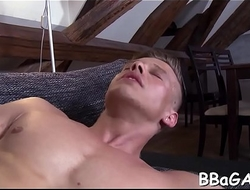 Salacious anal drilling with men