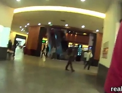 Glamorous czech nympho is seduced in the shopping centre and rode in pov