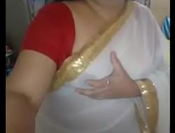 desi mallu aunty pressing nipple herself part 2