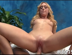 Lusty gal acquires giant facial