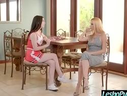 (Sandy Fantasy &amp_ Jenna Reid) Lesbian Girls Use Sex Dildos To Punish Each Other movie-30