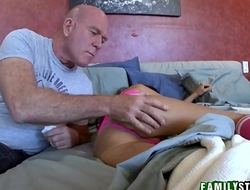 Step Daughter Trinity St. Clair And Panty Sniffing Step Dad